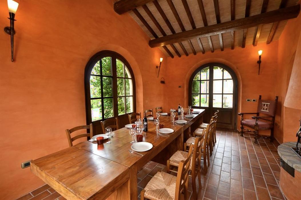Villa in Toscana formula MEZZA PENSIONE