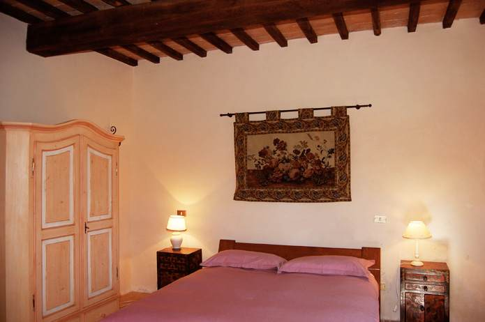 room of the tuscan villa