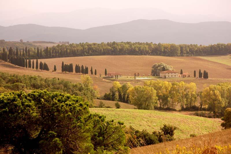 Villa toscana tra Volterra e San gimignano
