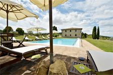 the pool of tuscan villa
