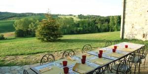casale in toscana in affitto con terrazza panoramica