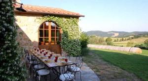 Villa in Toscana con terrazza panoramica