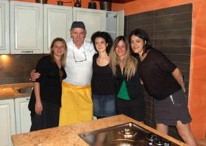 addio al nubilato con corso di cucina toscana