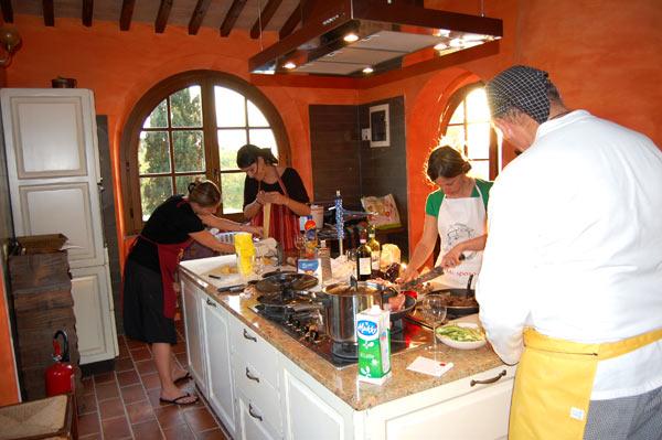 Addio al nubilato in villa toscana con corso di cucina e massaggio villa toscana blog - Corso di cucina bologna ...