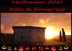affitto villa toscana per ponte di halloween