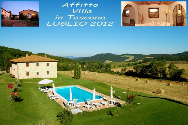 Luglio 2016 affitto villa con piscina in toscana villa - B b toscana con piscina ...