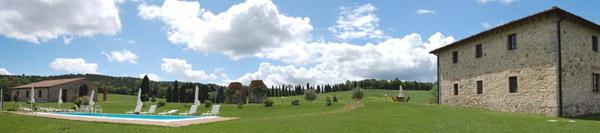 Casale con piscina in Toscana affitto per vacanze