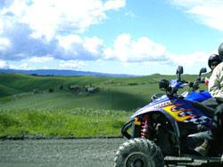 Noleggio quad e tour in Toscana