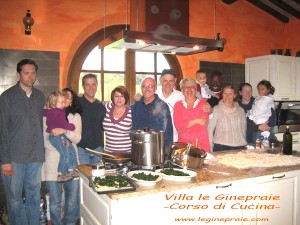 Lezioni di cucina Toscana in Villa