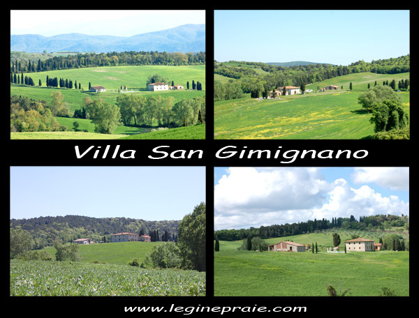 affitto villa a San Gimignano