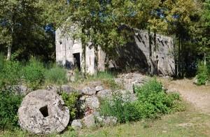 antica chiesa di castelvecchio a San Gimignano
