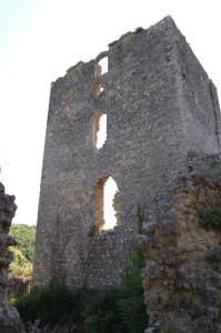 torre del borgo di castelvecchio a San Gimignano