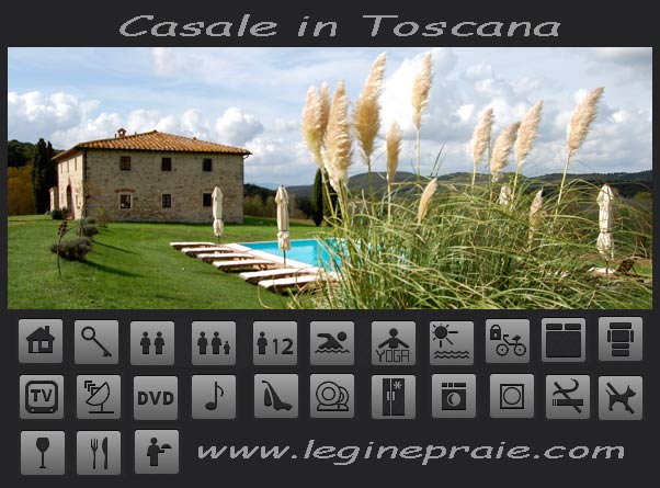 affitto casale in Toscana