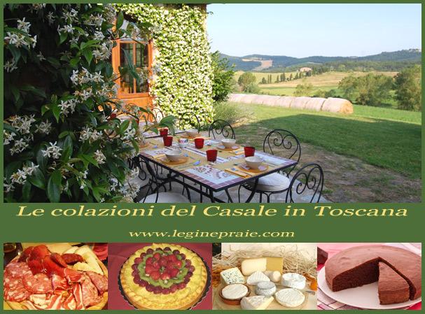 Le colazioni del Casale in Toscana