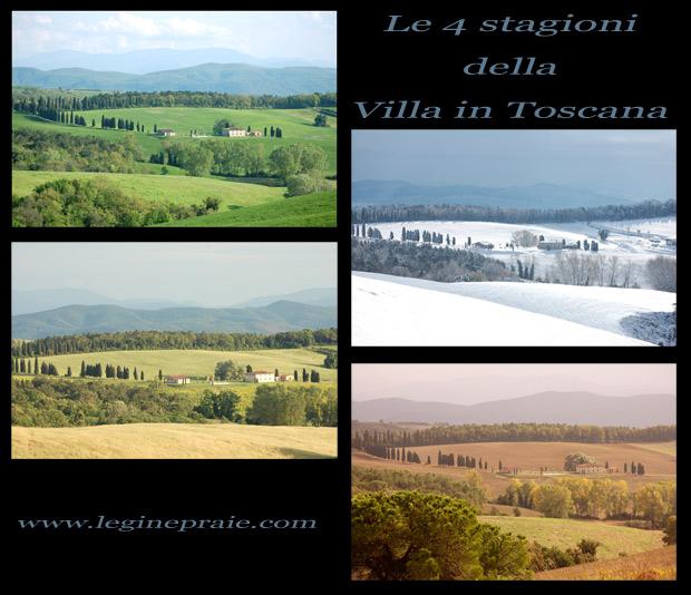 Villa in Toscana Primavera, Estate, Autunno e Inverno