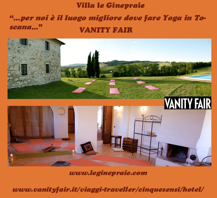 Yoga nel casale in Toscana