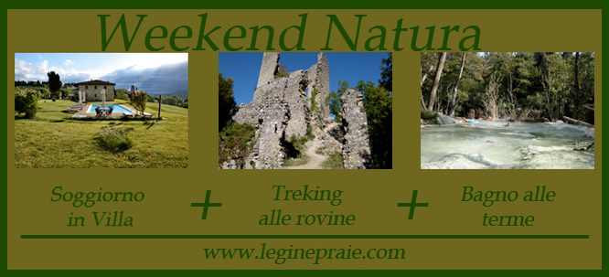 weekend natura in toscana