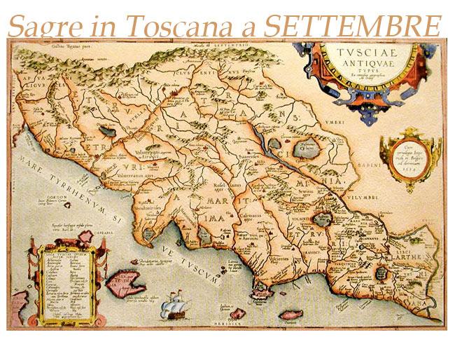 lista completa di tutte le sagre in toscana a settembre