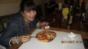 la pizza fatta in casa