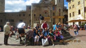 foto in piazza della cisterna