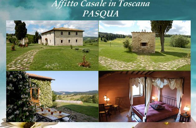 Prezzi casale in Toscana Pasqua