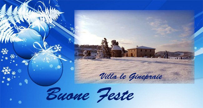 Buon natale 2013 in Toscana
