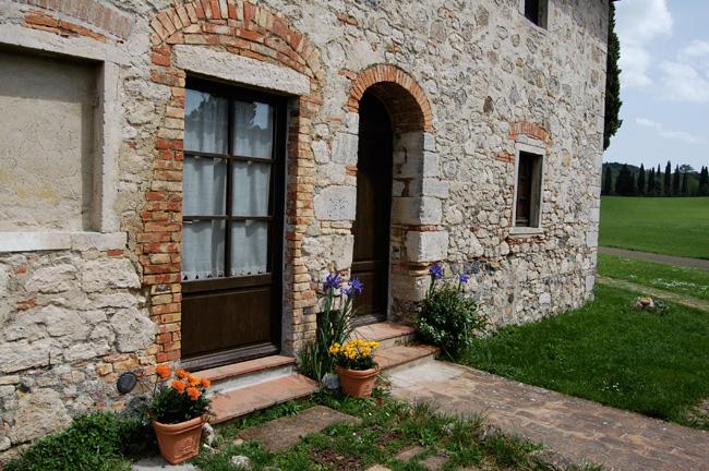 Porte del casolare Toscano in affitto