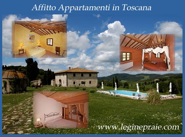 Appartamenti in Toscana Pasqua, 25 Aprile e 1 Maggio
