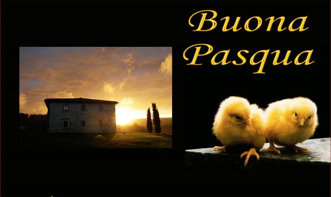 Buona Pasqua da Villa le Ginepraie
