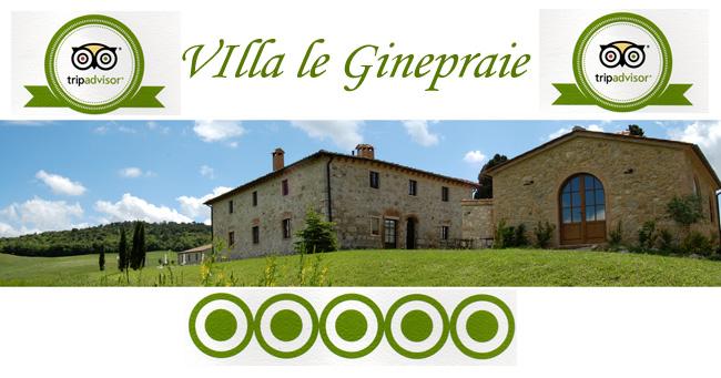 recensioni villa toscana Tripadvisor