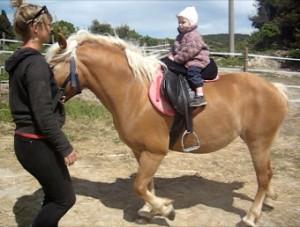 cavalli bambini toscana