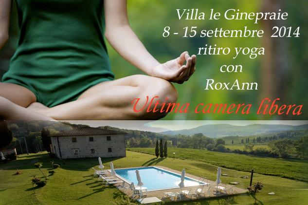 Ritiro Yoga tra Volterra e San Gimignano a Settembre