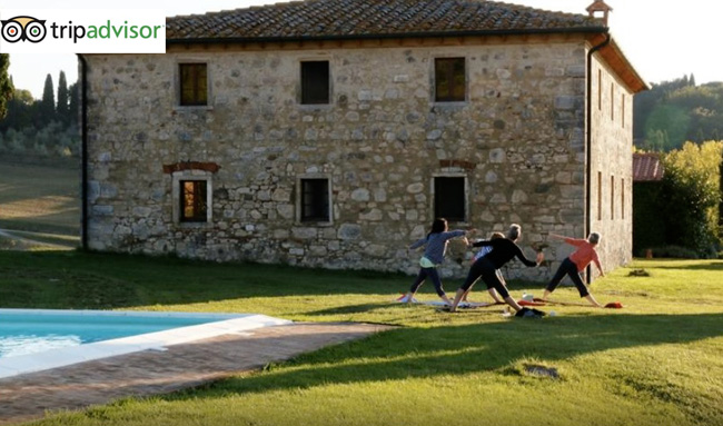 ritiro yoga villa in toscana