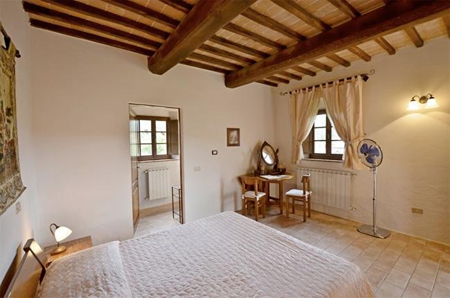 camera in villa toscana