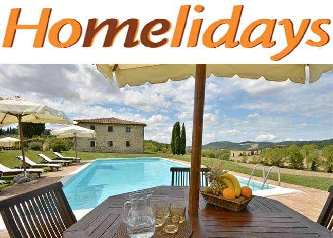 homelidays villa Toscana