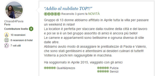 addio al nubilato in Toscana