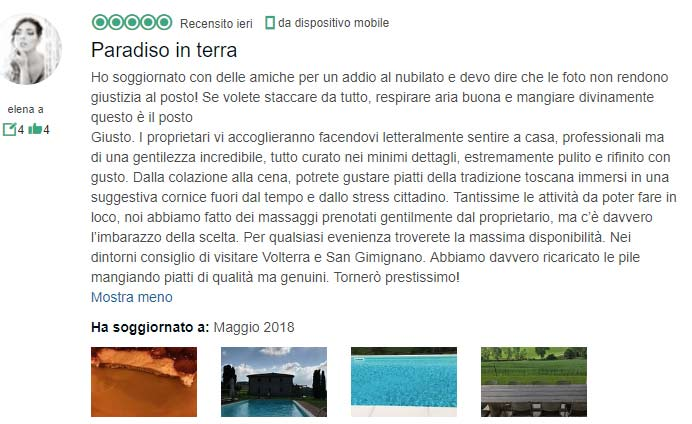 addio al nubilato in Villa Toscana