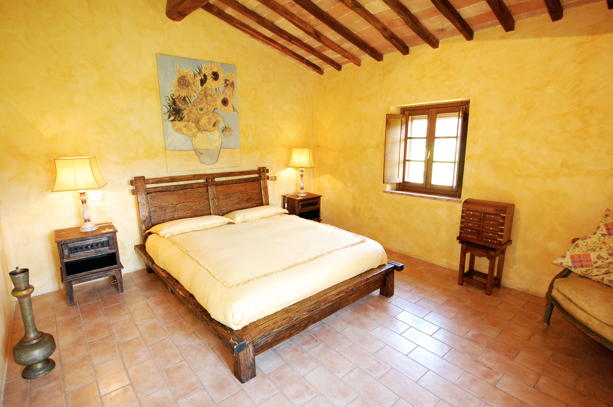 letto-villa-toscana