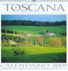 calendario villa panoramica in Toscana