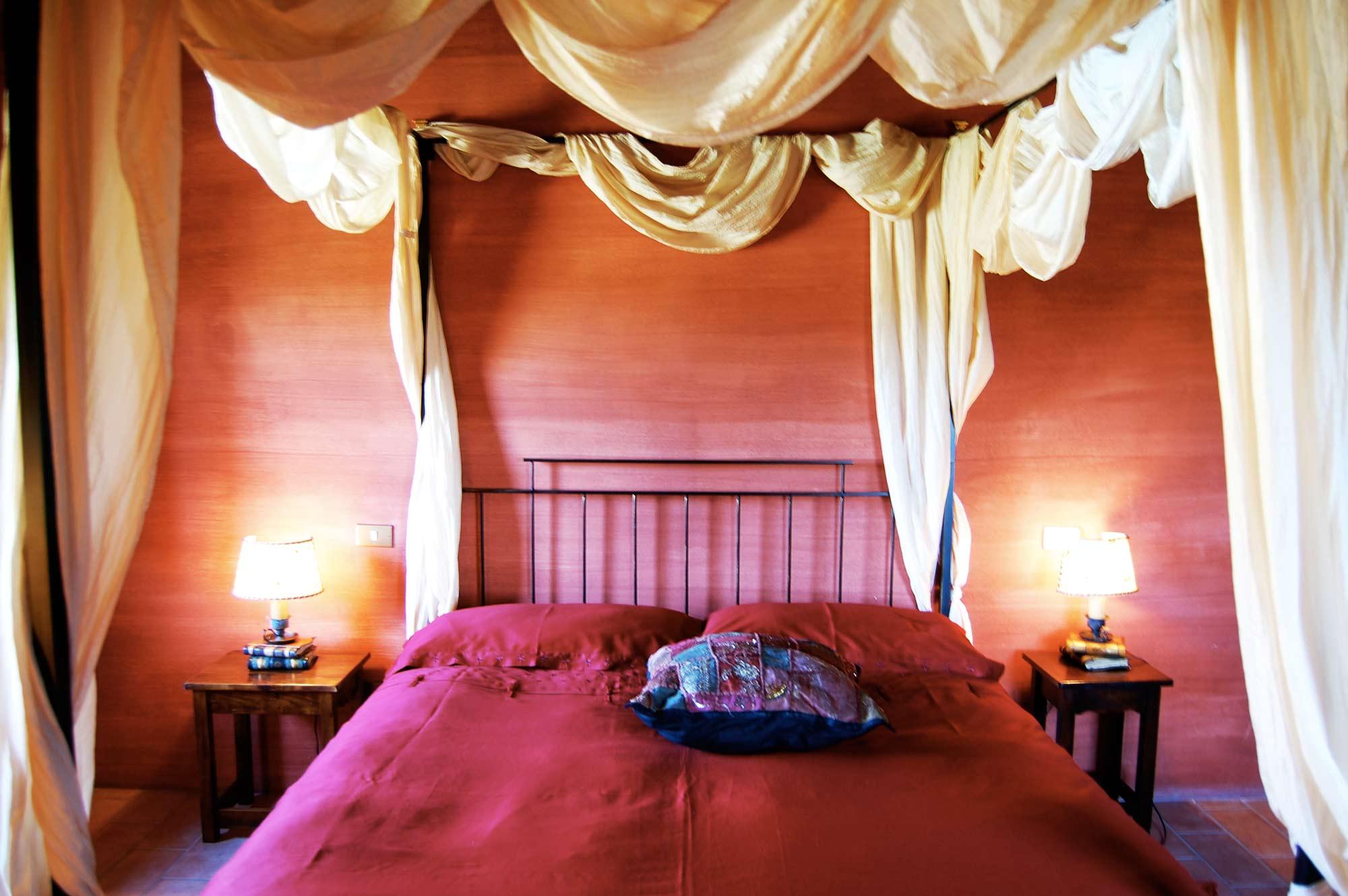 villa toscana con 5 camere da letto