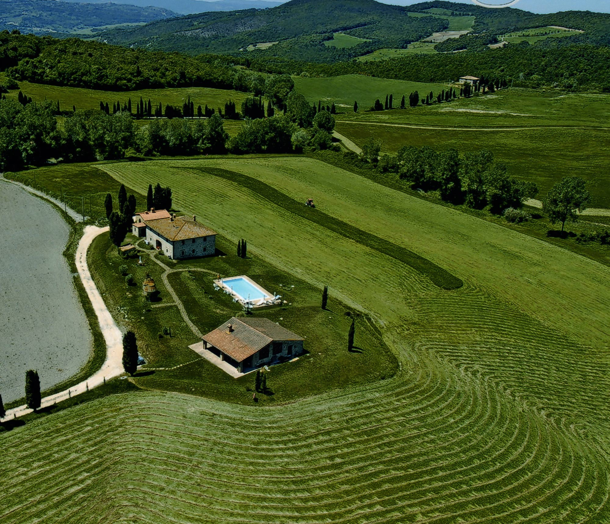 villa in collina in Toscana