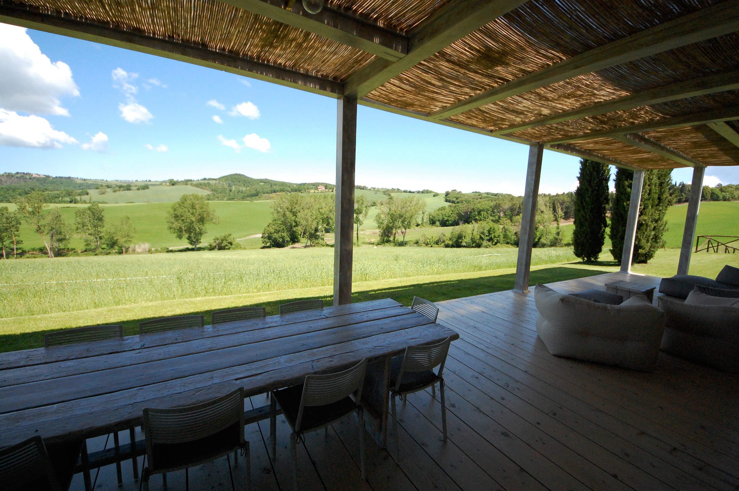 Pergola Villa Toscana Panoramica