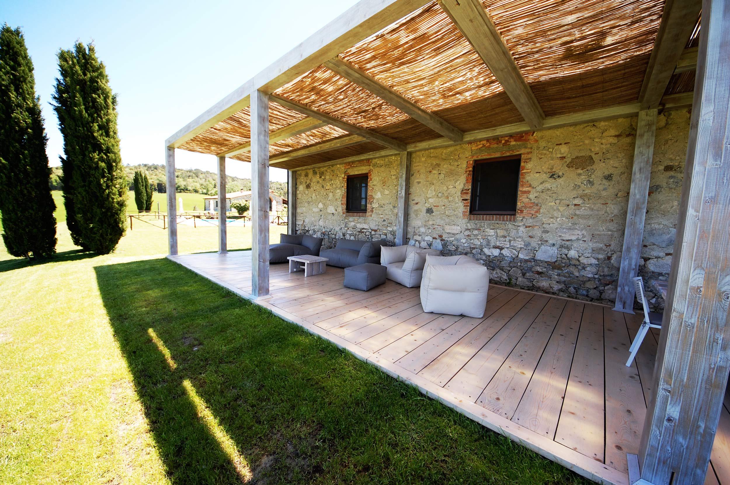 Pergolato casale in Toscanas