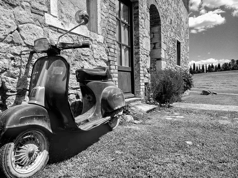 Foto di antico casolare Toscano