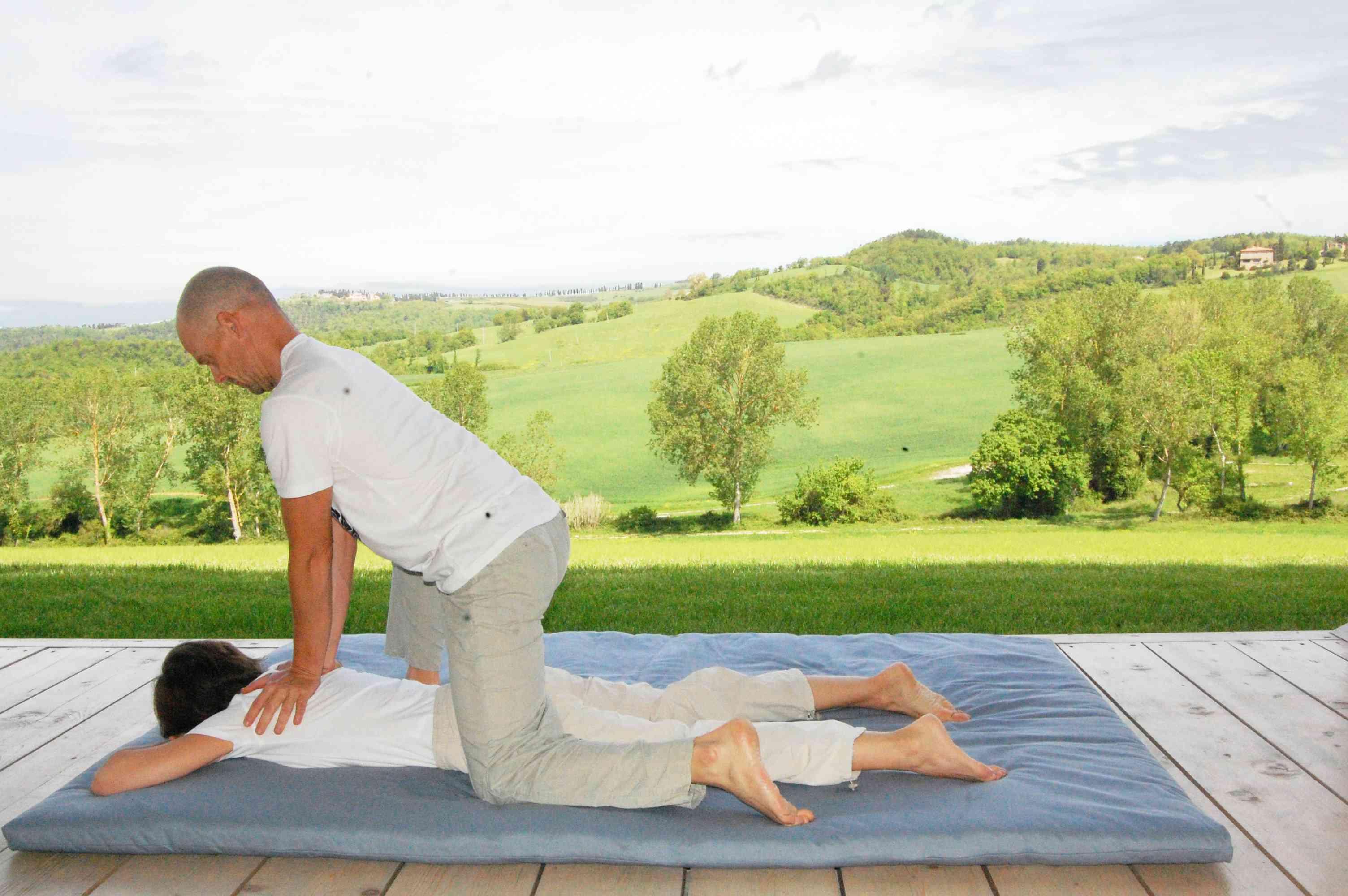 massaggio Thailandese alla sciena