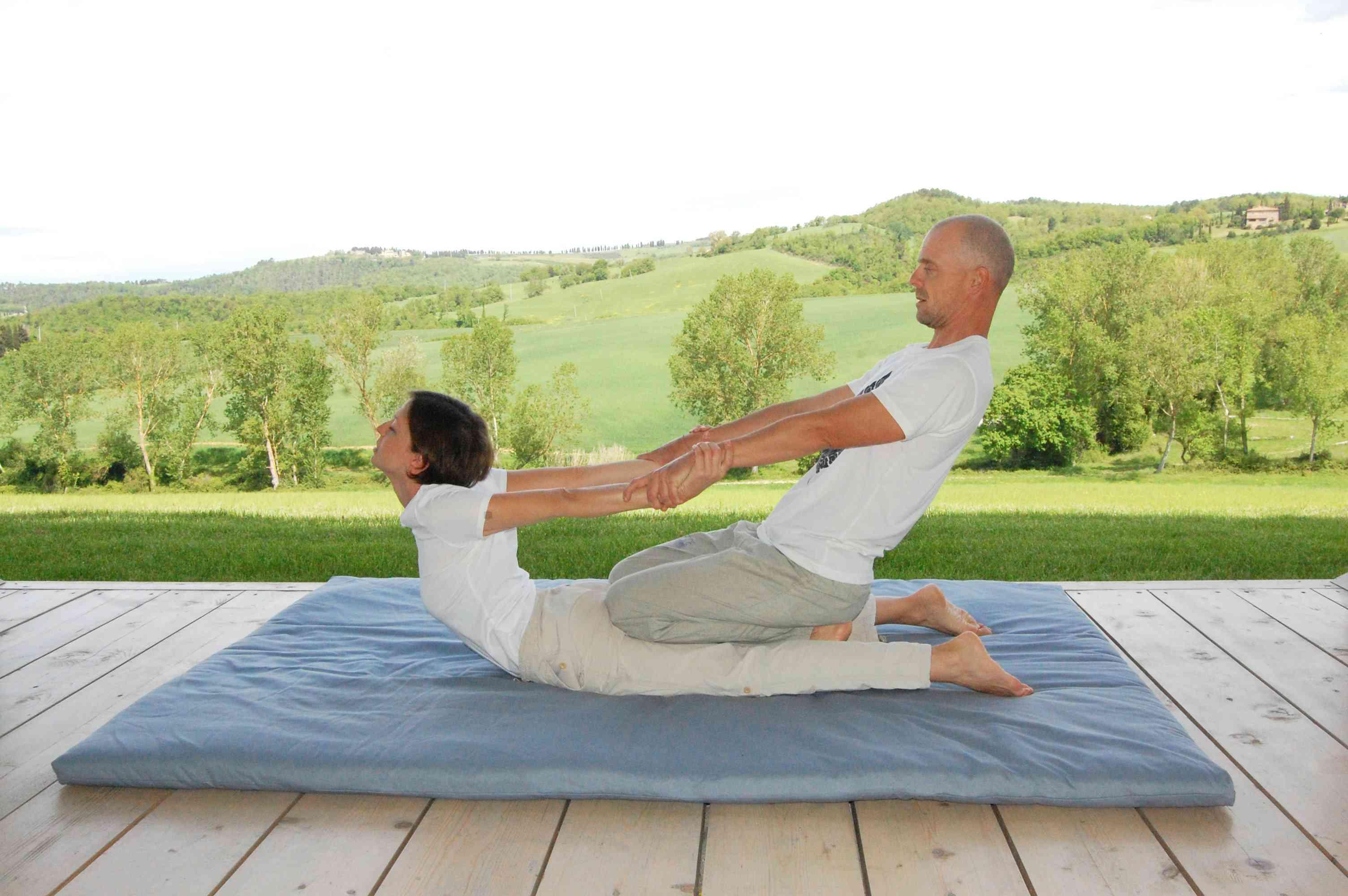 massaggio thailandese in Toscana