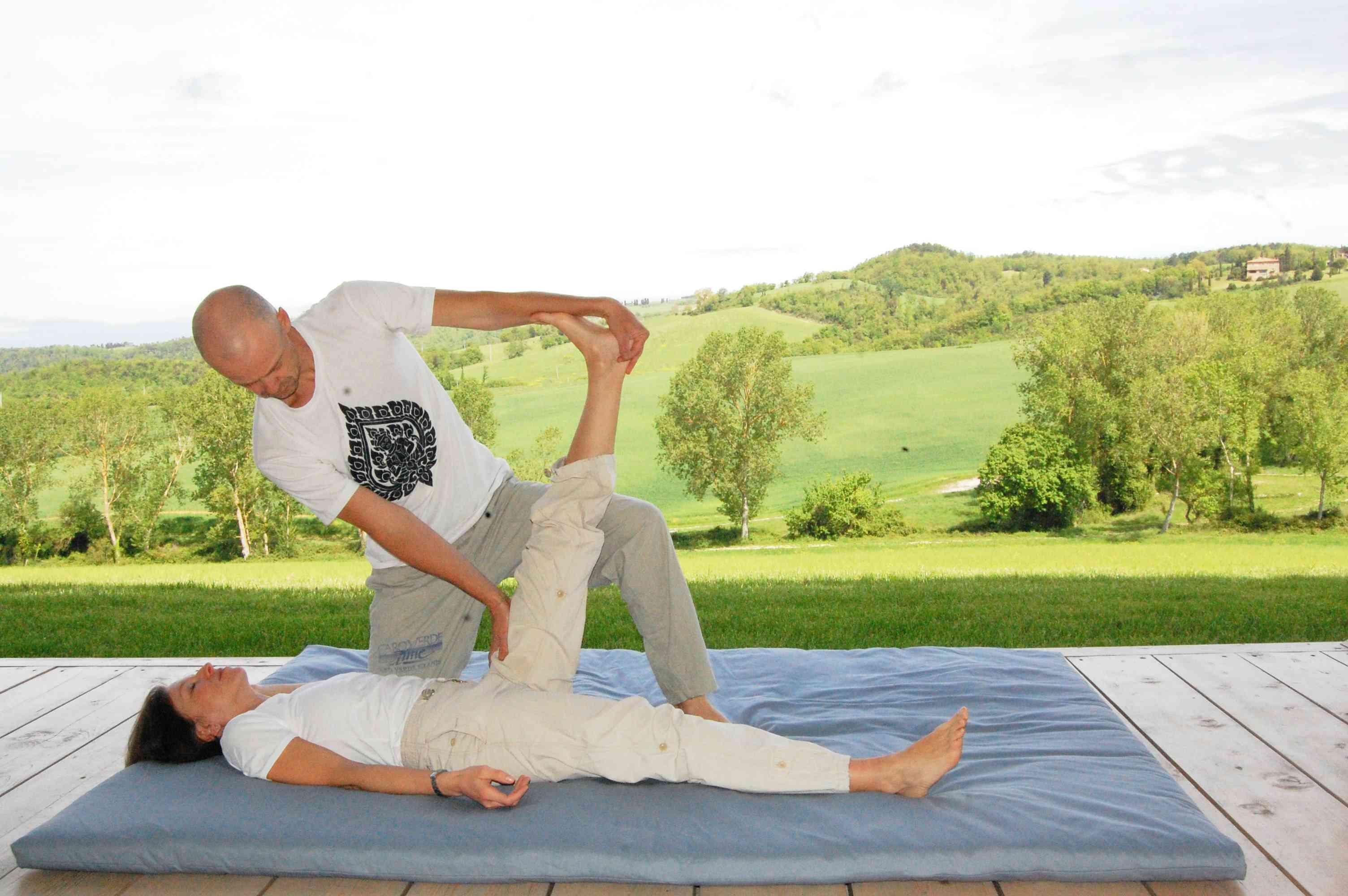 villa con massaggio thailandese su richiesta