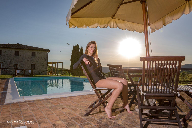villa in Toscana con piscina per relax