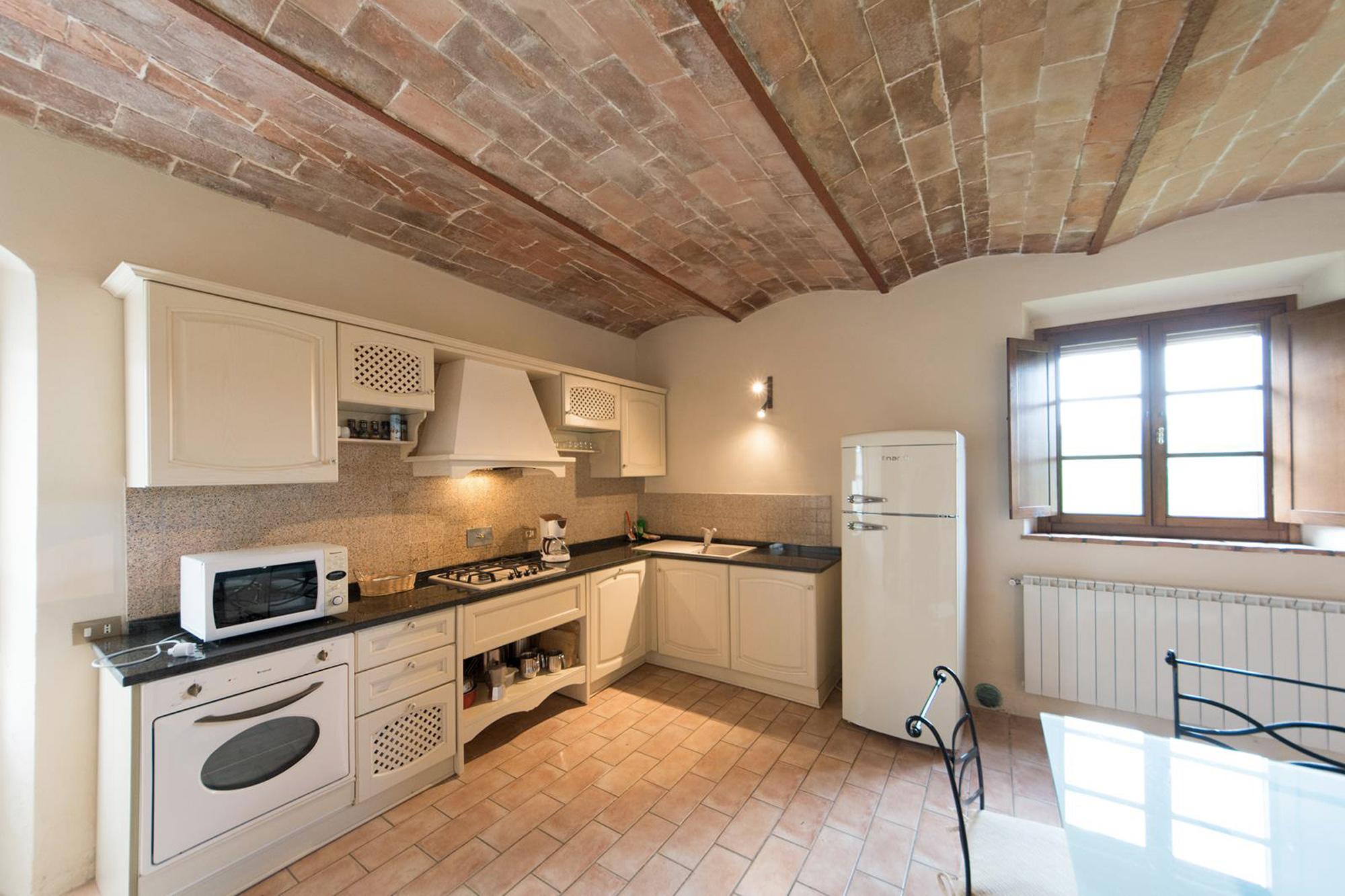 cucina della villa
