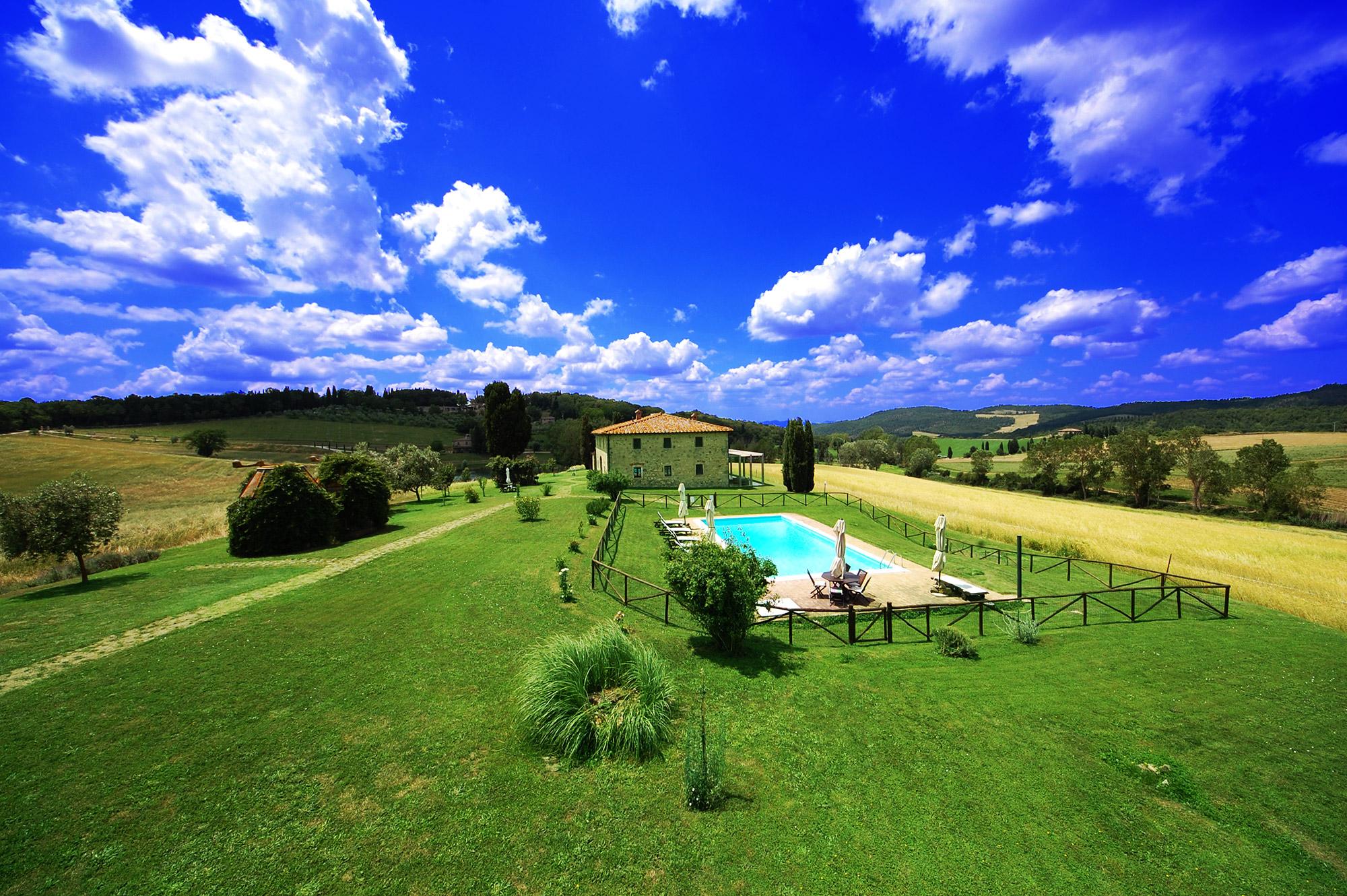 affitto villa toscana con piscina privata
